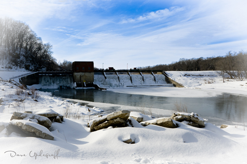 Maquoketa Dam - Winter 2011