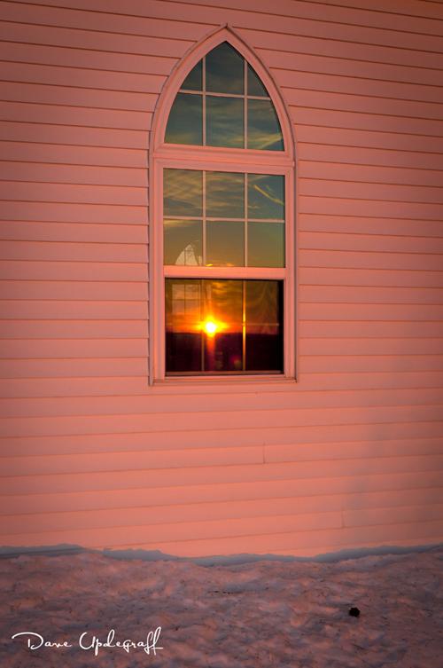 Brilliant Sunset Church 2