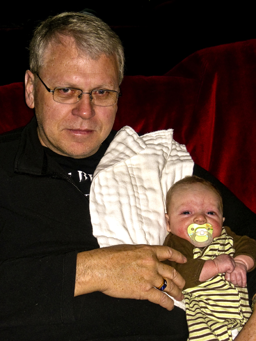 Grandpa Flash with Josh