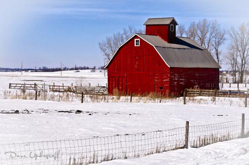 Winter Barn -2