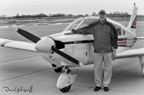 Gary Saelens and his Airplane