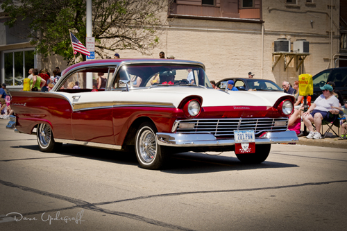 Memorial Day Parade - 1957 Ford Fairlane