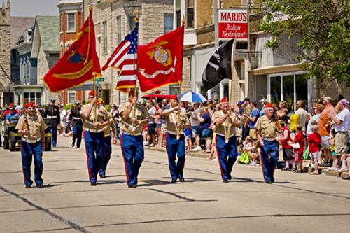 Memorial Day Parade - USMC