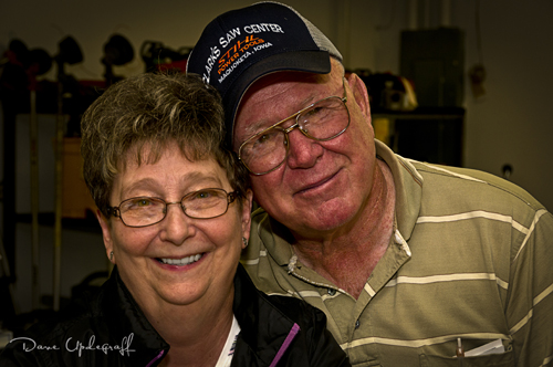 Mick and Carol Clark