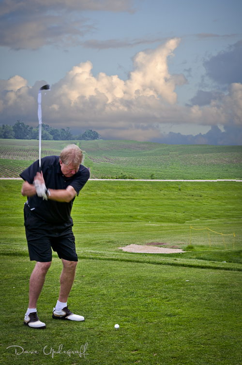 Steve Flynn Golfing