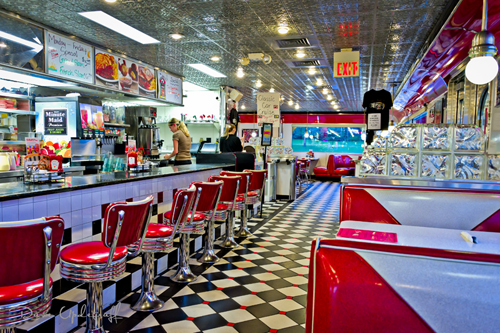 Classic Diner Inside