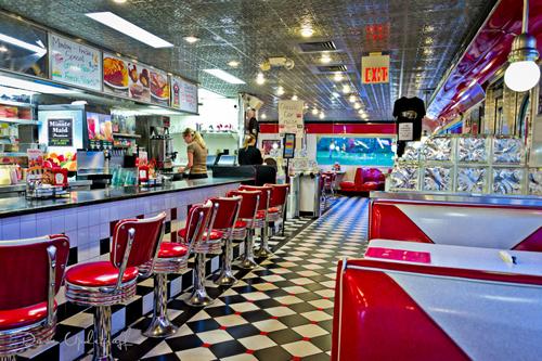 Classic Diner Inside