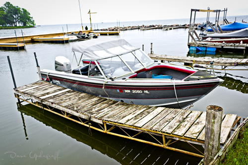 Lund 19 ft Boat