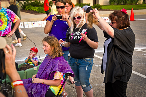 Teacher Donating Hair