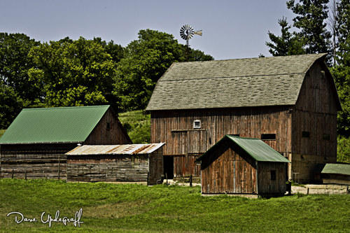 Barn in the Summer