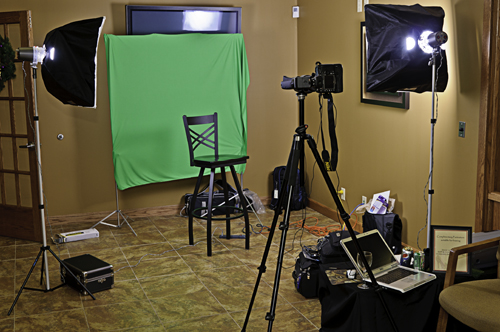 Studio Lighting Setup
