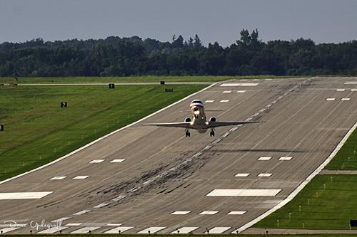 American Eagle Regional Jet Take Off