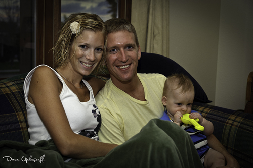 Angie, Ben and Joshua