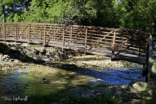Foot Bridge at Swiss Valley Park