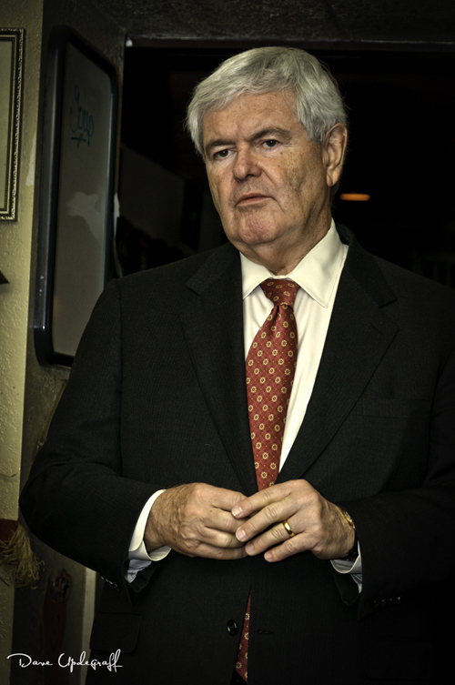 Newt Gingrich Answers Questions