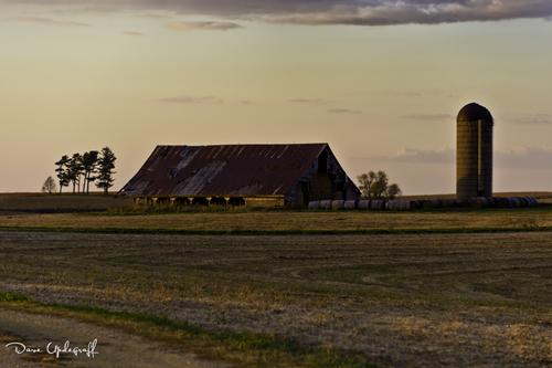 Barn Basking In the Sunlight