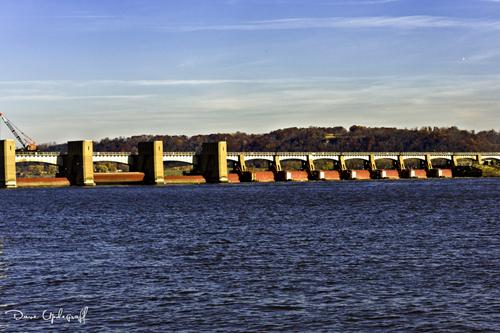 Lock & Dam #10 at Dubuque, Iowa
