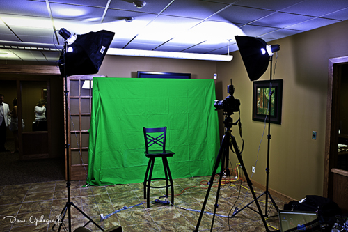 Green Screen Set Up