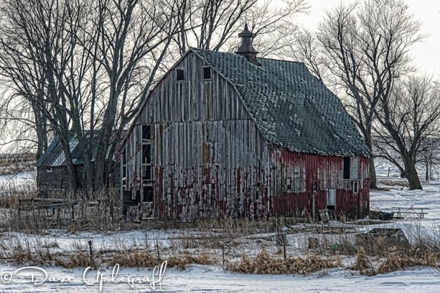 An aging barn
