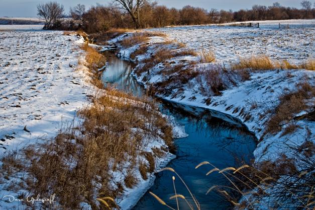 A wandering stream