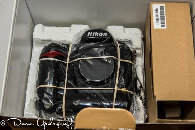 Nikon D3 back from repairs