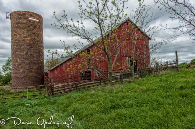 Silo and Shed
