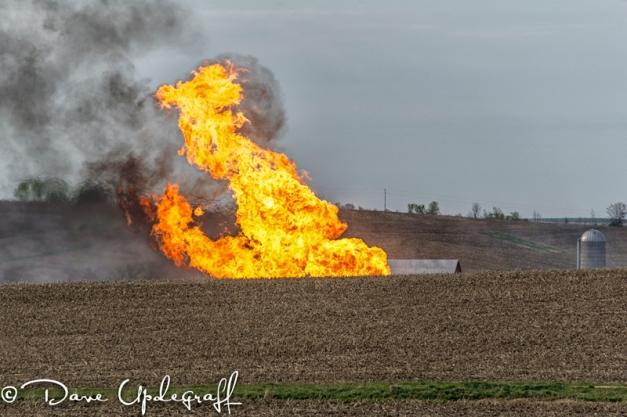 Gas Line Rupture