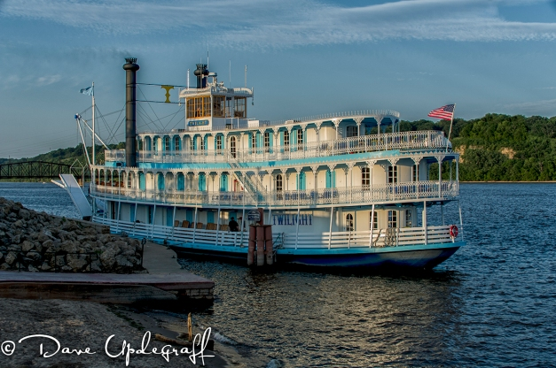 The Twilight Docked In Dubuque