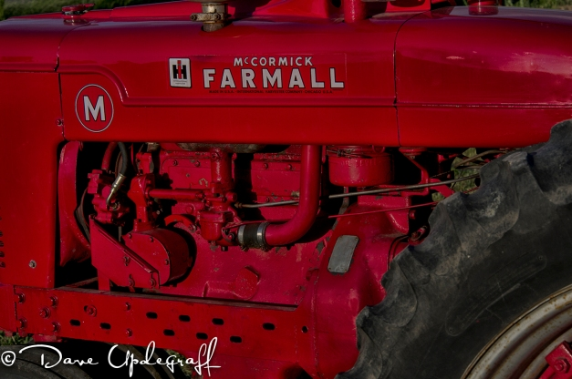 An Old Farmall Tractor