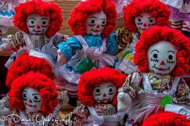 Raggedy Ann Dolls