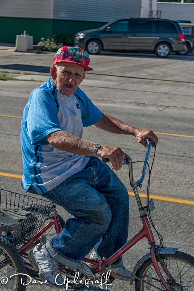 Old Man On A Tricycle
