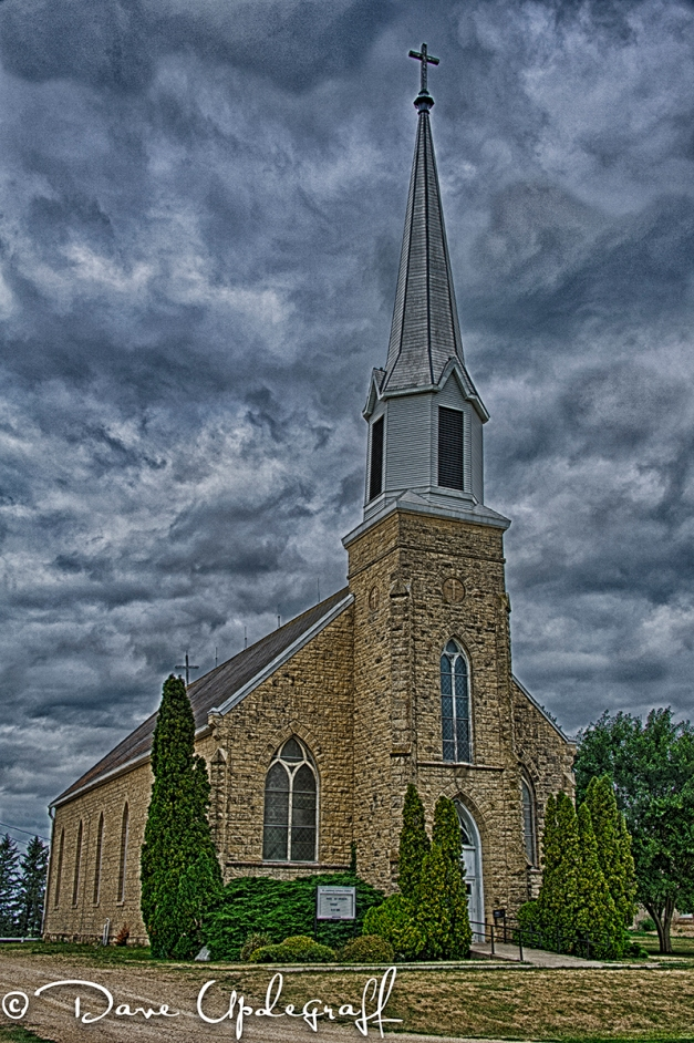 Otter Creek Church HDR - 2012