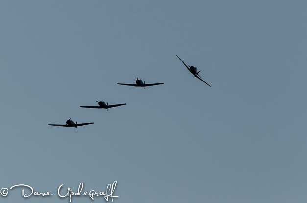 Formation of WW2 War Birds