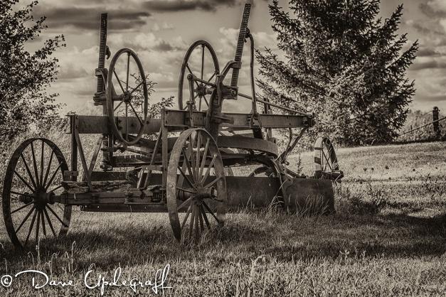Old Road Grader
