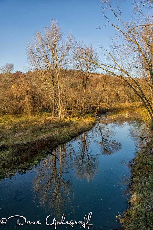 Creek at Twin Springs Bridge