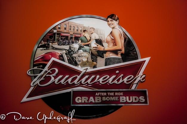 Budwiser Sign