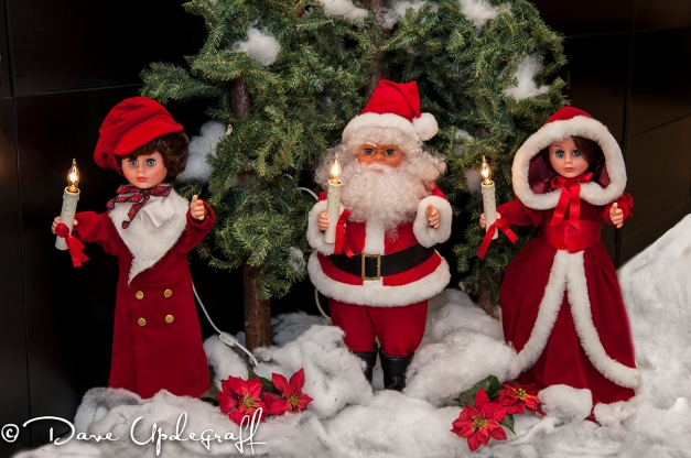 Santa adn his helpers