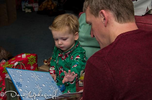 Ben and Josh at Christmas