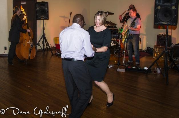 Enjoying A Dance