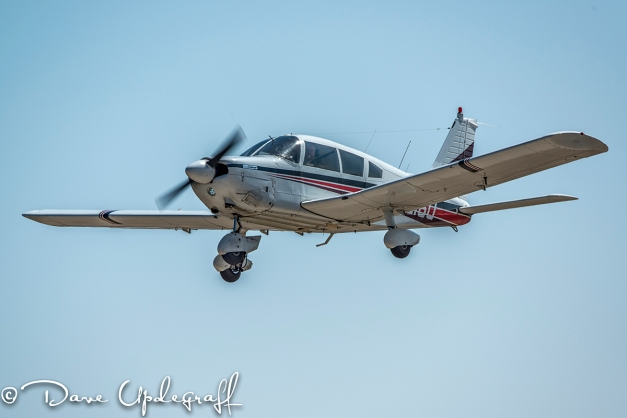 Gary Takes Off From Maquoketa Airport