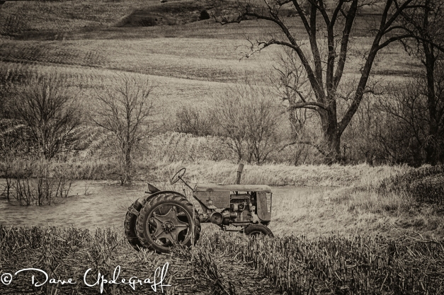 Just an old tractor