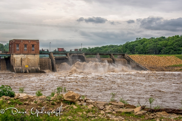 Dam at the Maquoketa River