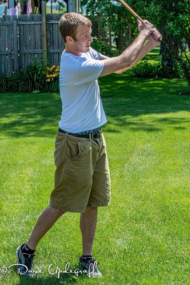 Mark's Golf Practice Swing