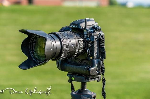 Nikon D800 with digital receiver