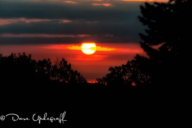 Sunrise over Asbury, Iowa