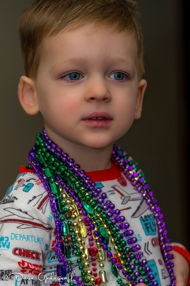Joshua and his beads