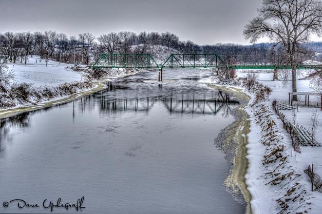 Bridge near Anamosa, Iowa