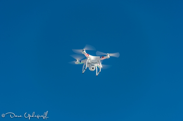 Flying Phantom 2 vision