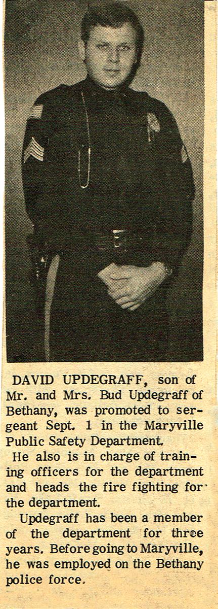 Sgt. Upde