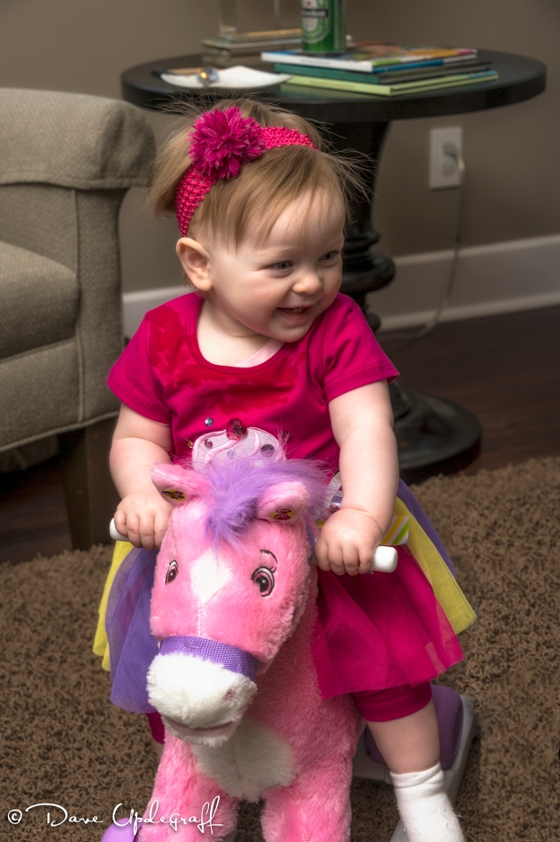 Gabby and her horse